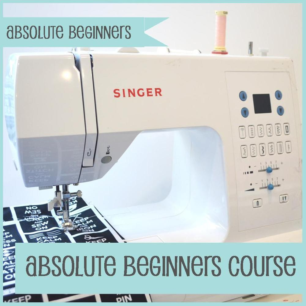 The Crafty Nomad Sewing Class Absolute Beginners course