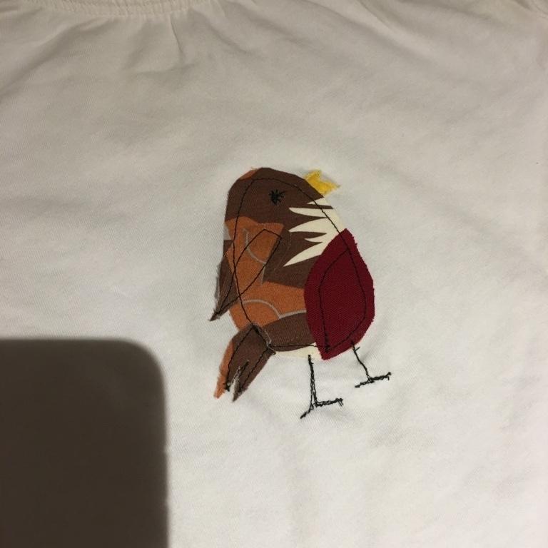 Jo P's Appliqued T-shirt