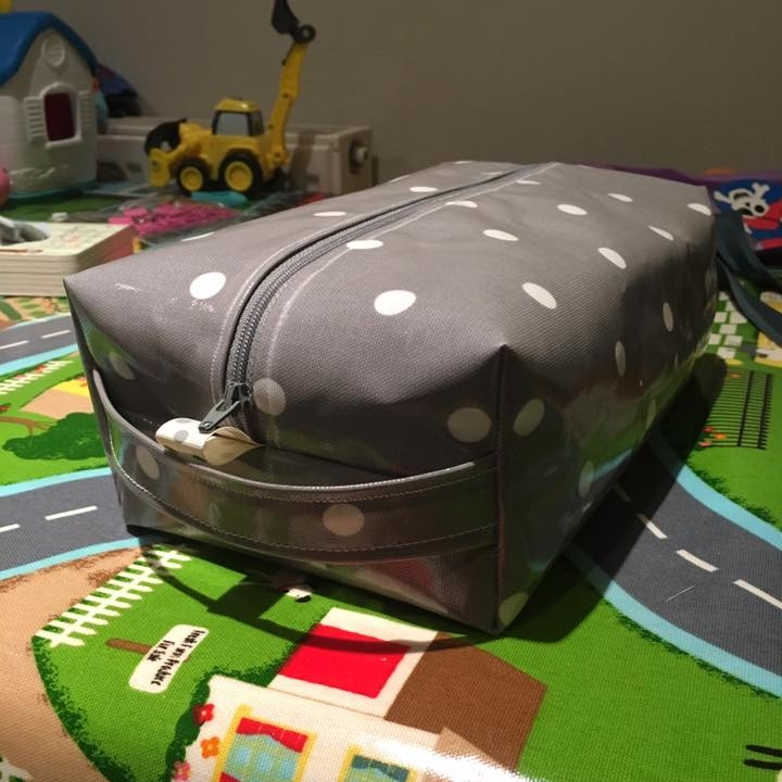 Jo P's Oilcloth Wash Bag
