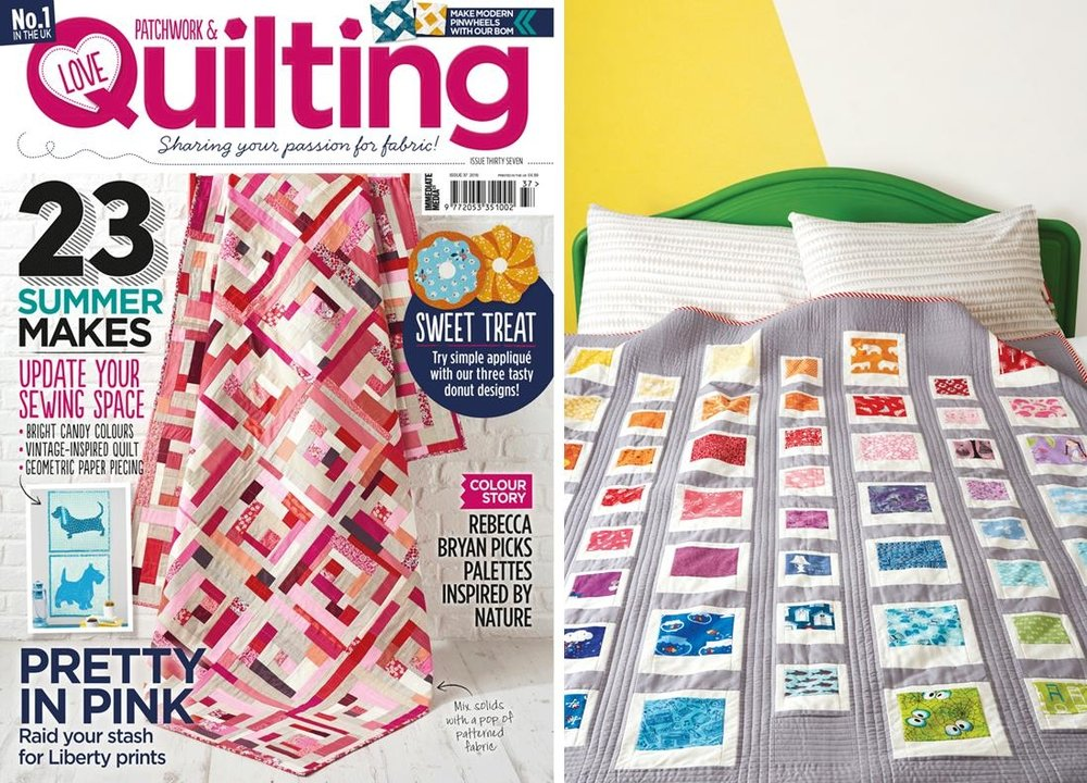 Love Patchwork & Quilting Issue 37 July 2016