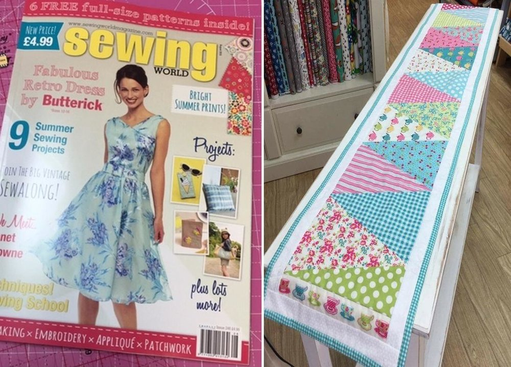 Sewing World Issue 246 August 2016