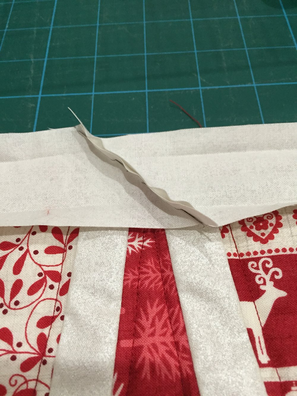 Single Fold Quilt Binding Tutorial The Crafty Nomad