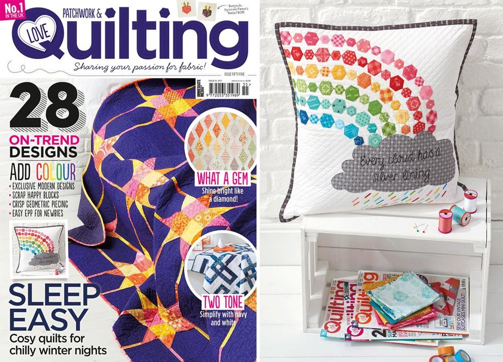 Love Patchwork & Quilting Issue 55 - December 2017