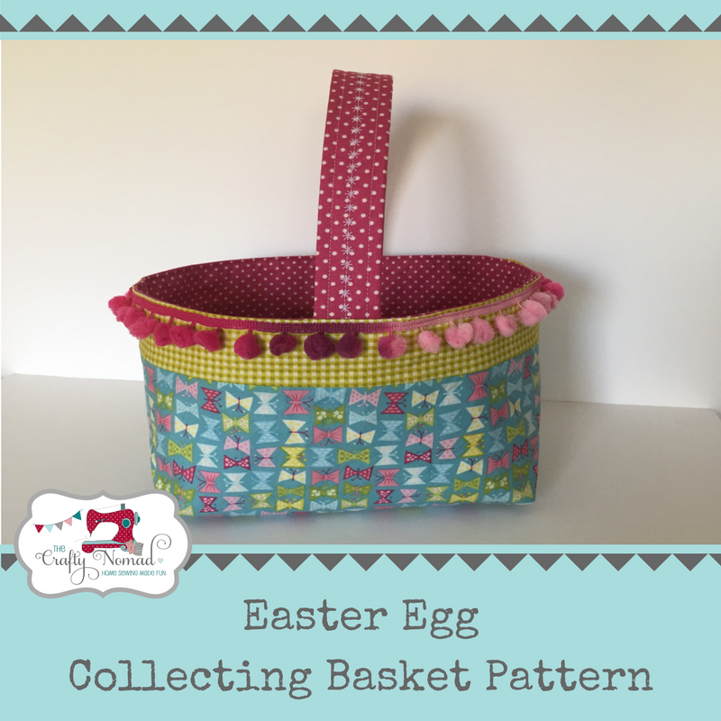 Easter Egg Collecting Basket by The Crafty Nomad perfect for Easter trails