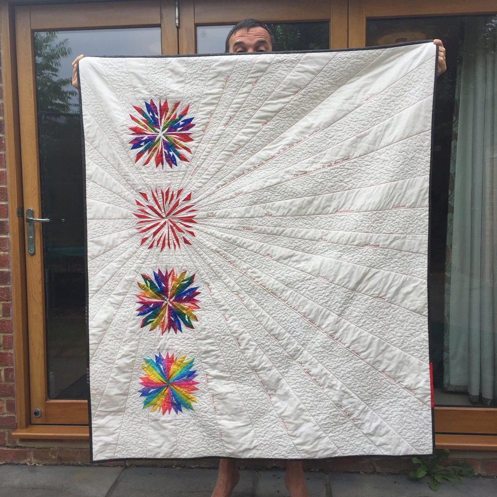 The Crafty Nomad Breaking Point Quilt