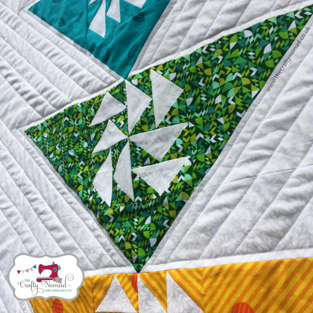 Puzzled Geese Quilt Pattern The Crafty Nomad