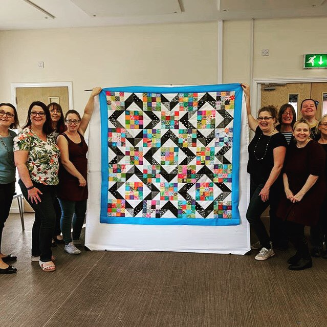 Siblings Together Quilt at Oxfordshire MQG