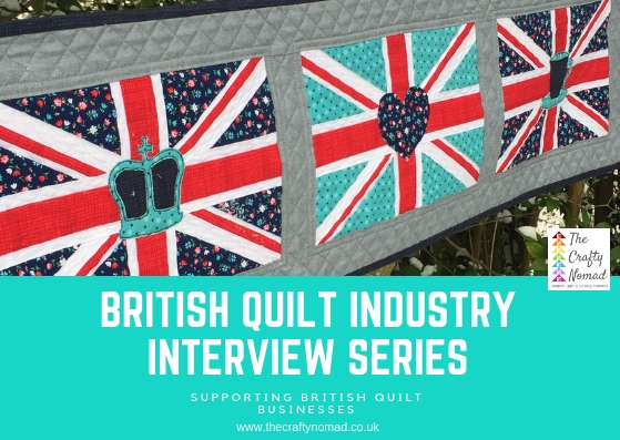 British Quilt Industry Interview Series The Crafty Nomad