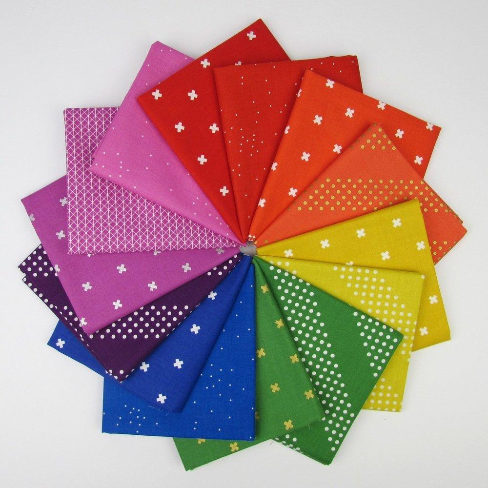Cotton & Steel Rainbow Fabric Bundle