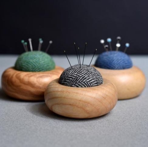 Pin cushions Beyond Measure.JPG