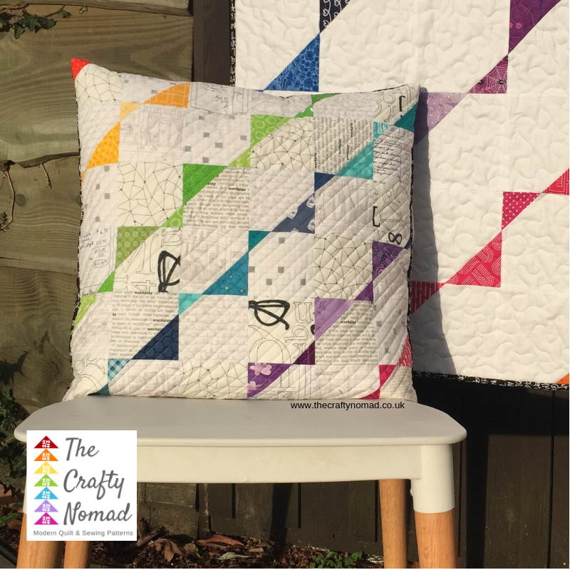 Break out the Bunting Cushion Pattern The Crafty Nomad