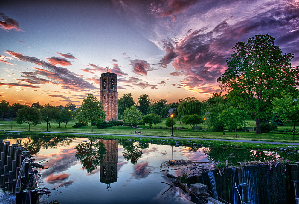 Baker Park Sunset June 2015-13x19.jpg