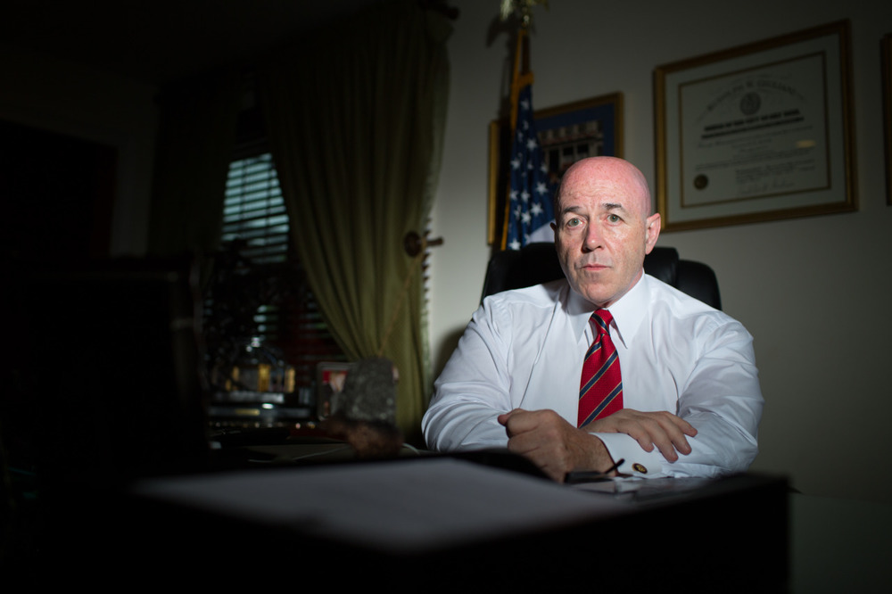 Former New York City Police Commissioner Bernie Kerik
