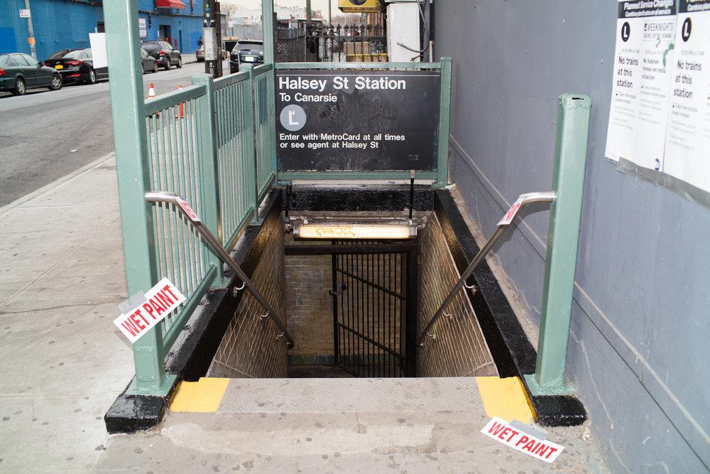 Halsey Street Station