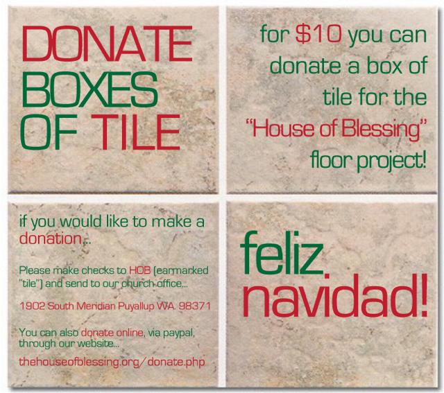 Tile Donation (blog)