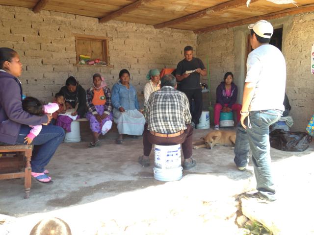 Luis Preaching
