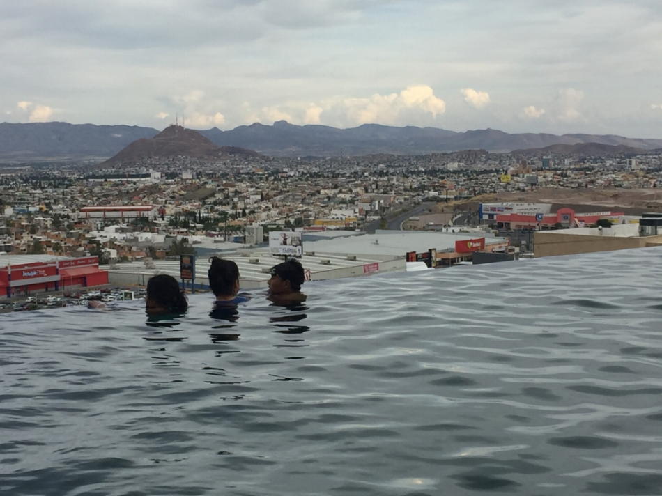 Felt like you were swimming on the edge of Chihuahua City!