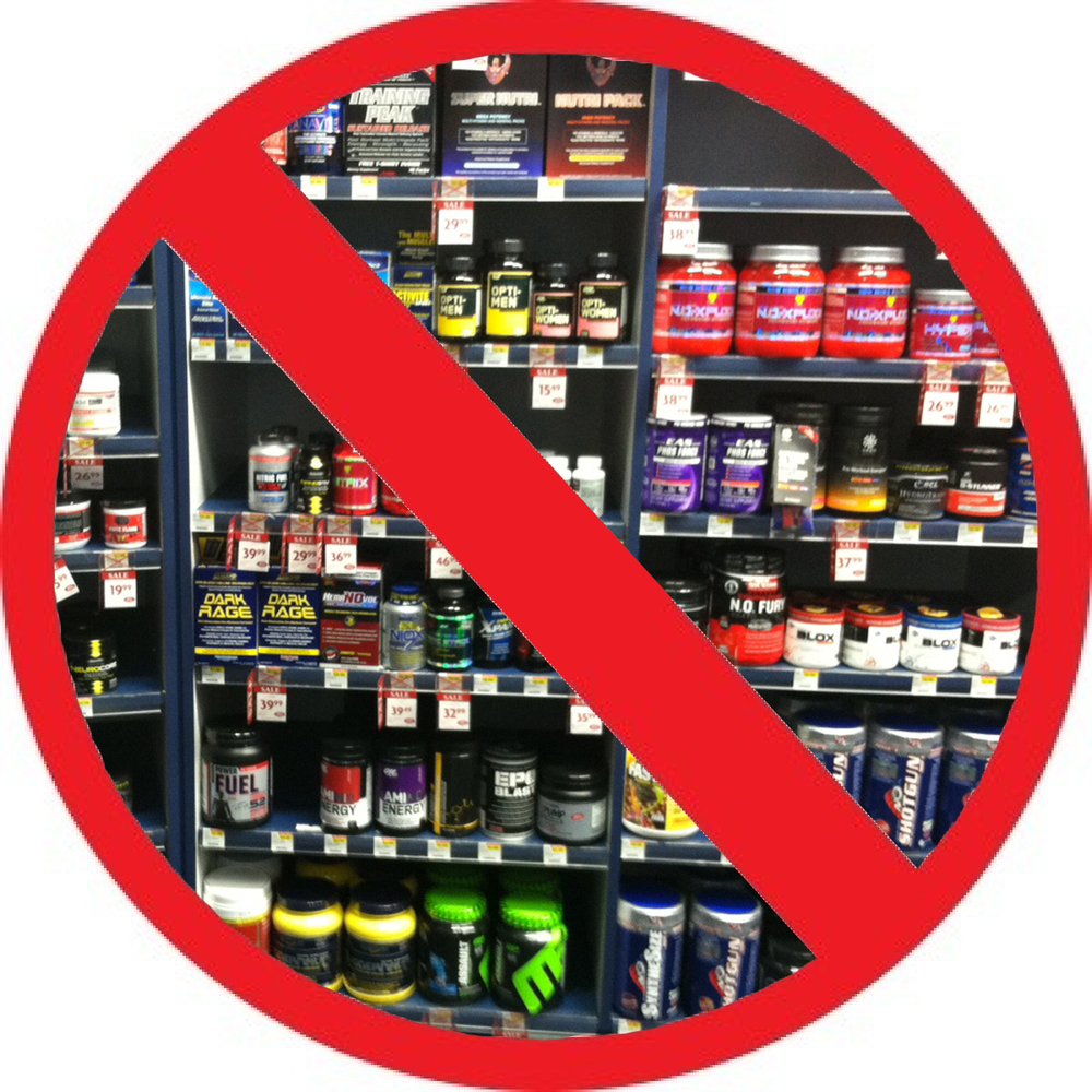 "Avoid the ""Suspicious Supplements"""
