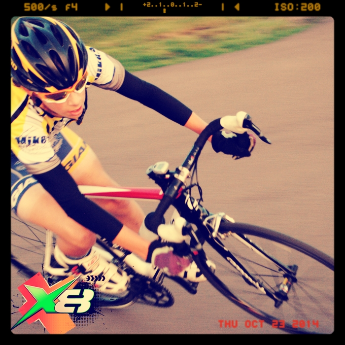 """Tracy C. Cyclist """"I swear by X8 Energy Gum. During my weekend training I used to hit the wall midway through, now I just bring an extra dose and it kicks in immediately."""""""