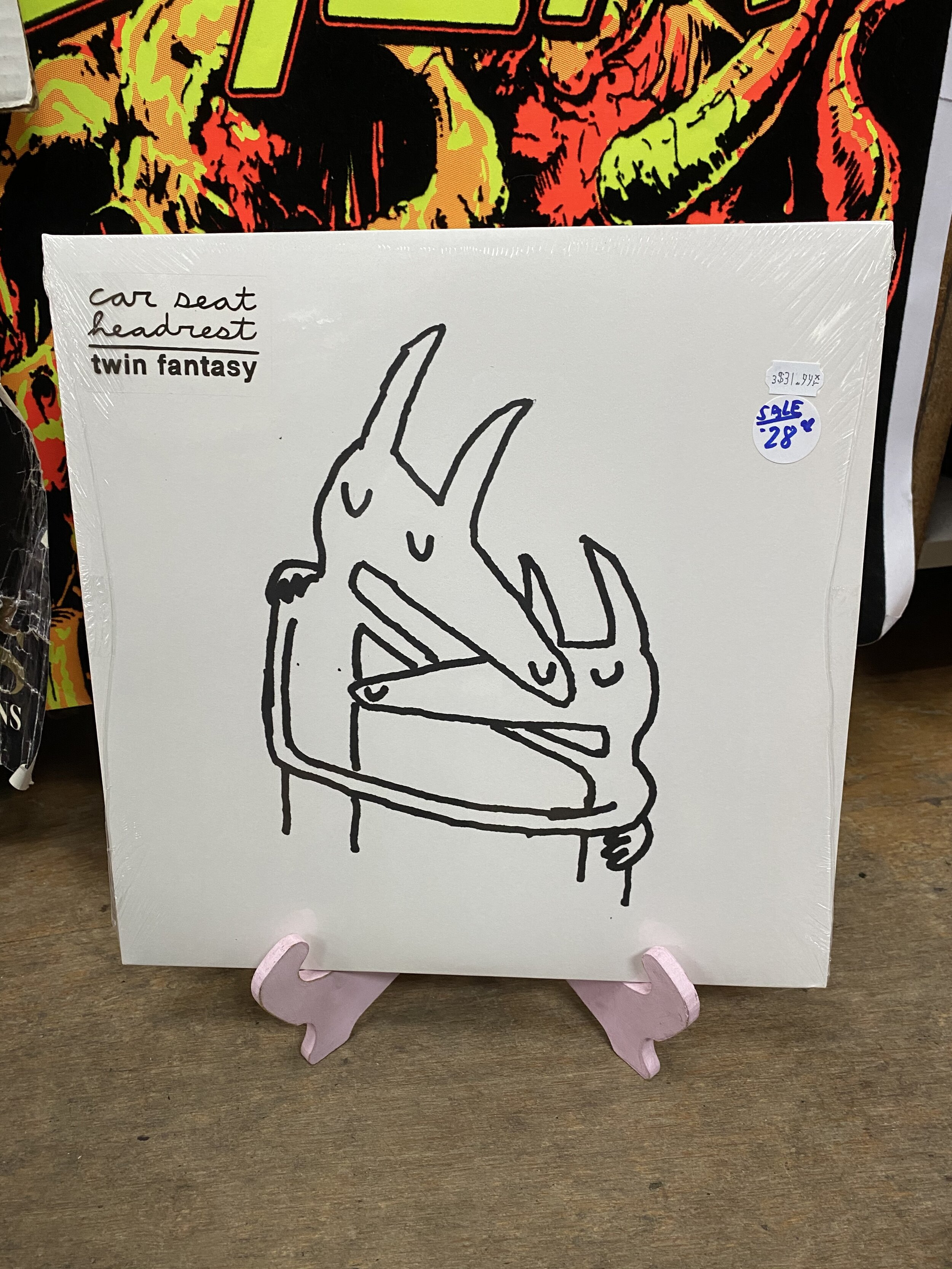 Car Seat Headrest Twin Fantasy Lp Repo Records