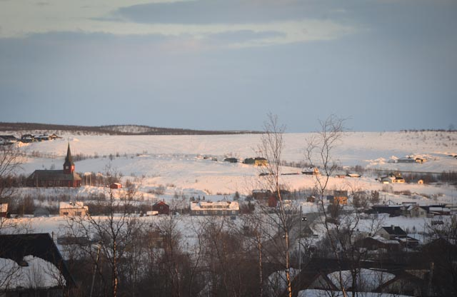 The Sámi town of Kautokeino, northern Norway. Photo: Alizé Carrère