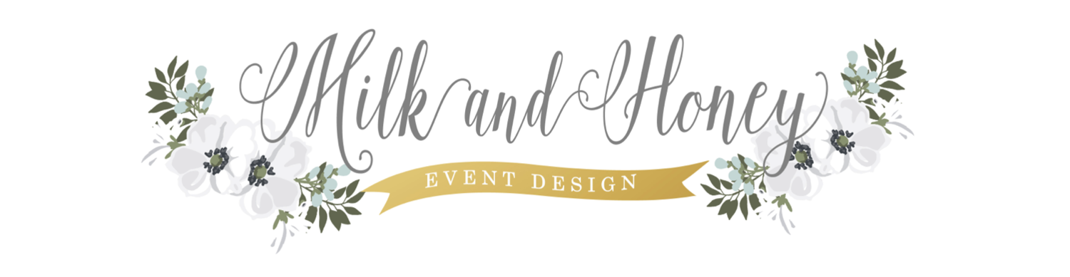 Milk and Honey Event Design