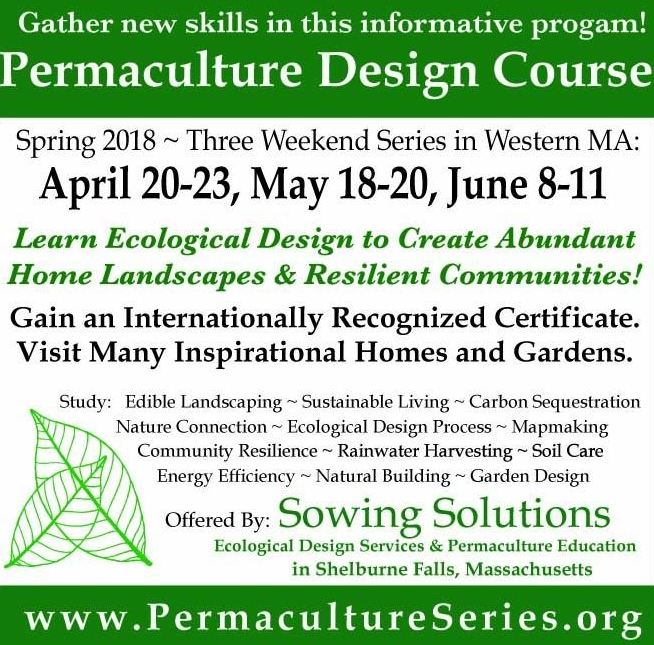 Sowing Solutions Permaculture Design Certification Course - Spring ...