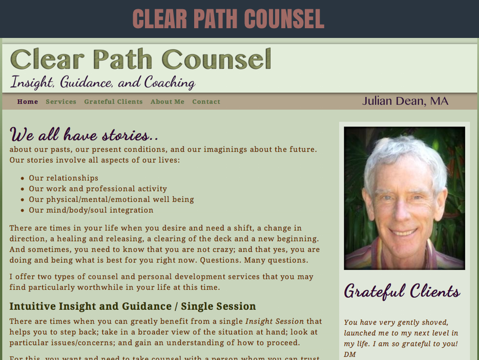 CLEAR PATH COUNSEL WEBSITE