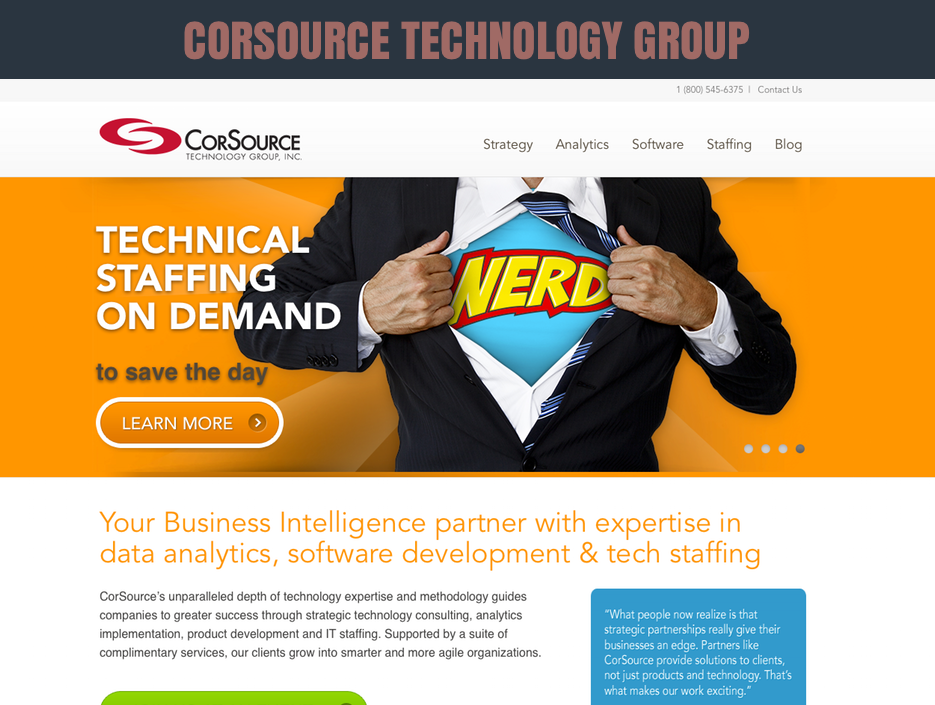 CORSOURCE MARKETING & LEAD GENERATION