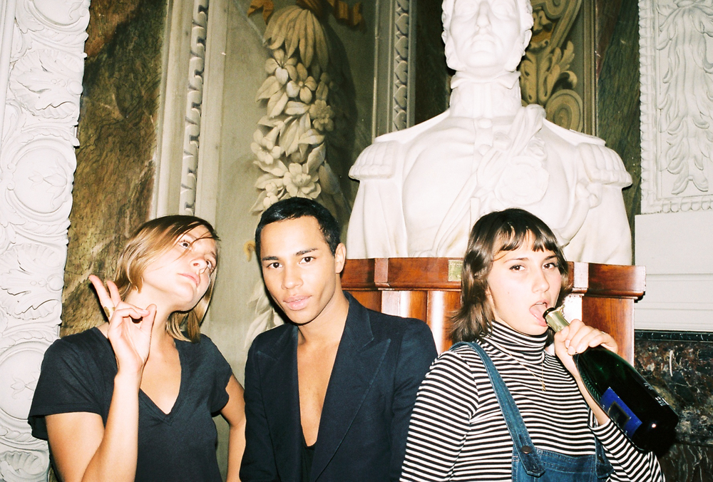 Olivier Rousteing   Balmain aftershow