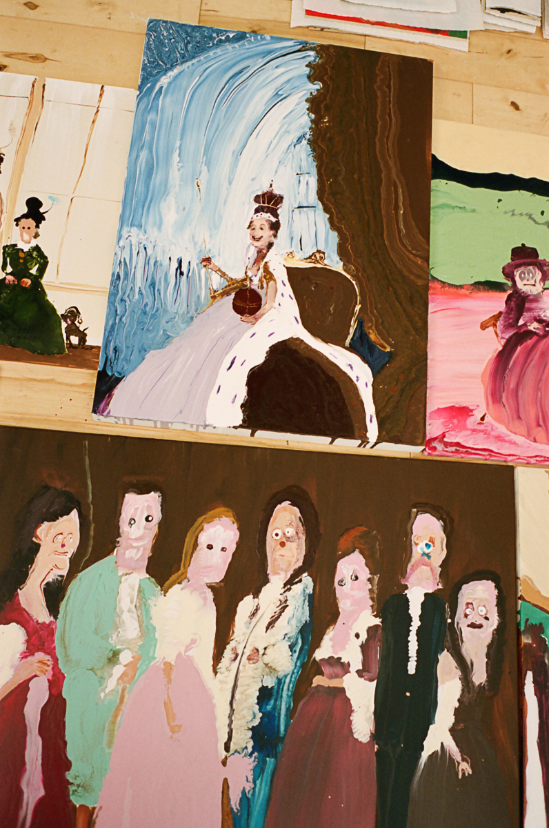 Genieve Figgis for Interview magazine