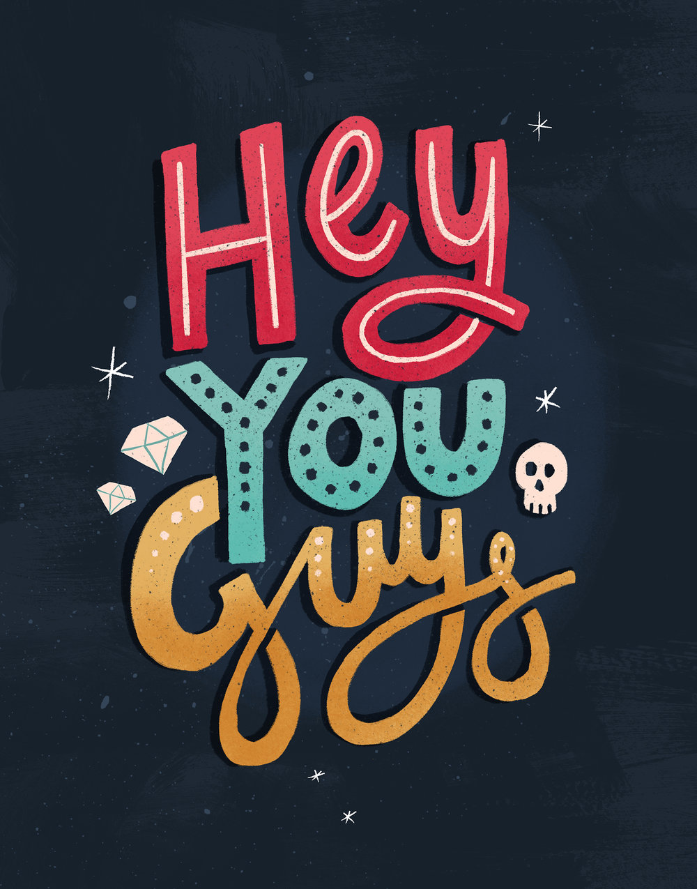 Hey You Guys by Laura Ingham