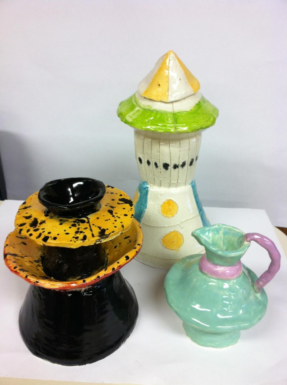 Liam,Dylan,Celia pottery.JPG