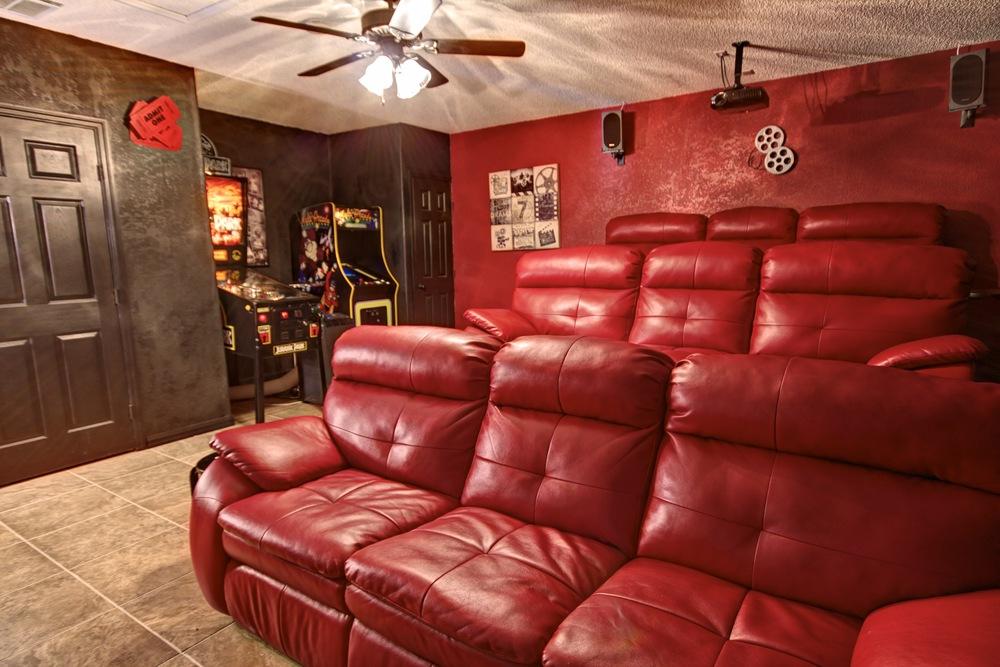 Movie & Games Room