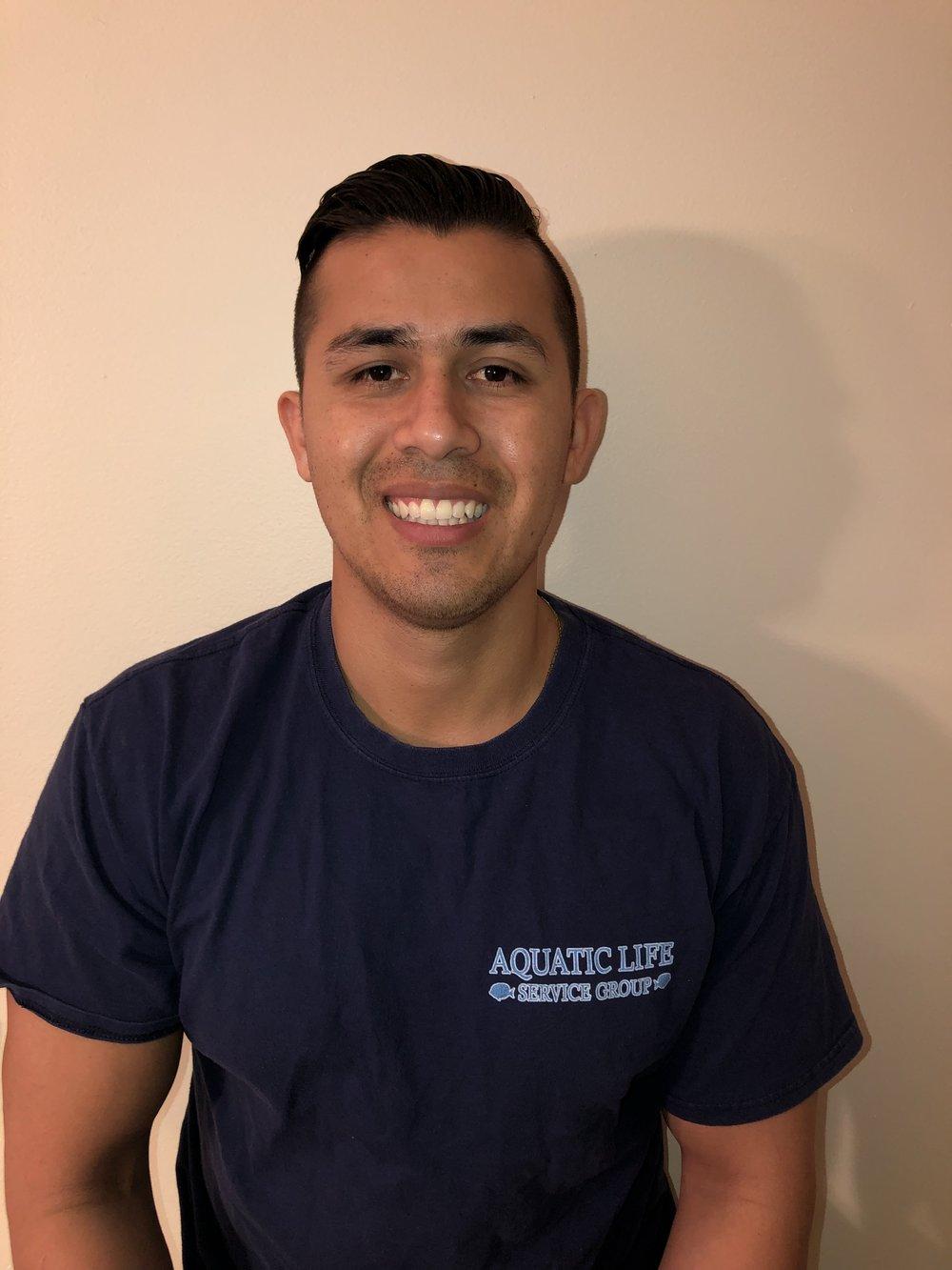 Miguel Blanco - Service Technician
