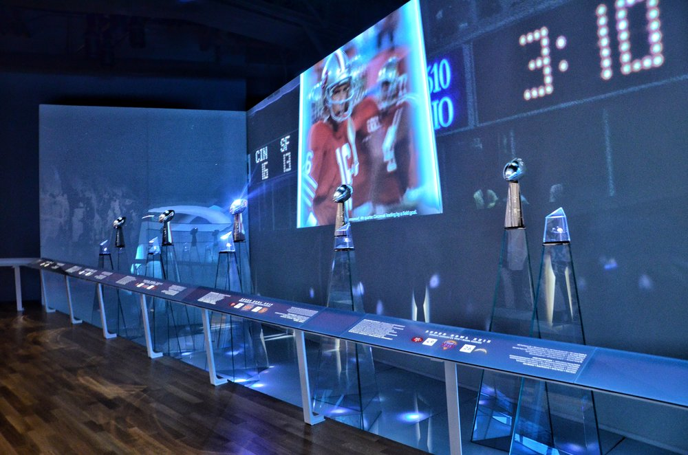 49ers 5 Super Bowl trophies