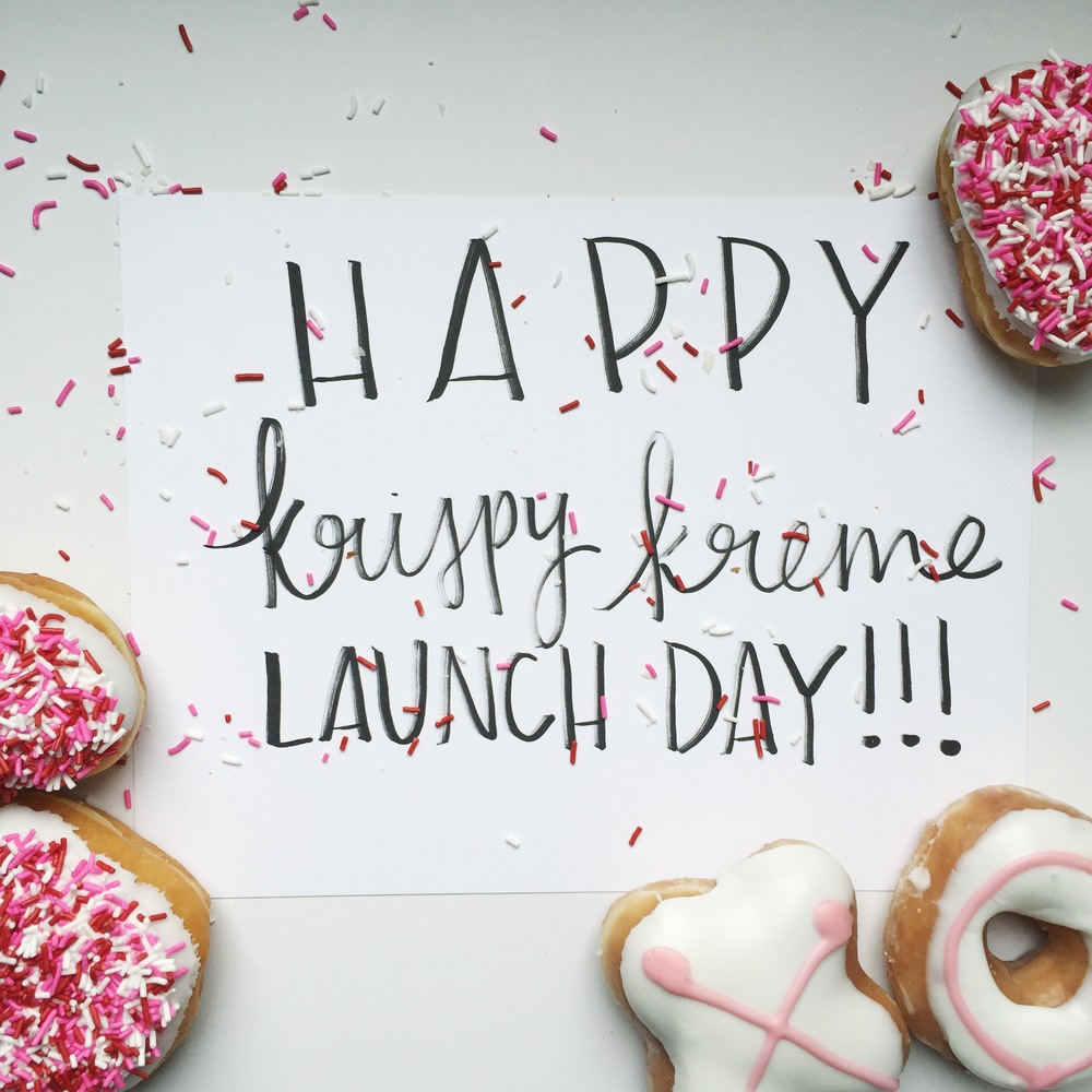 Krispy Kreme Valentine's Day Campaign Chelcey Tate 2015