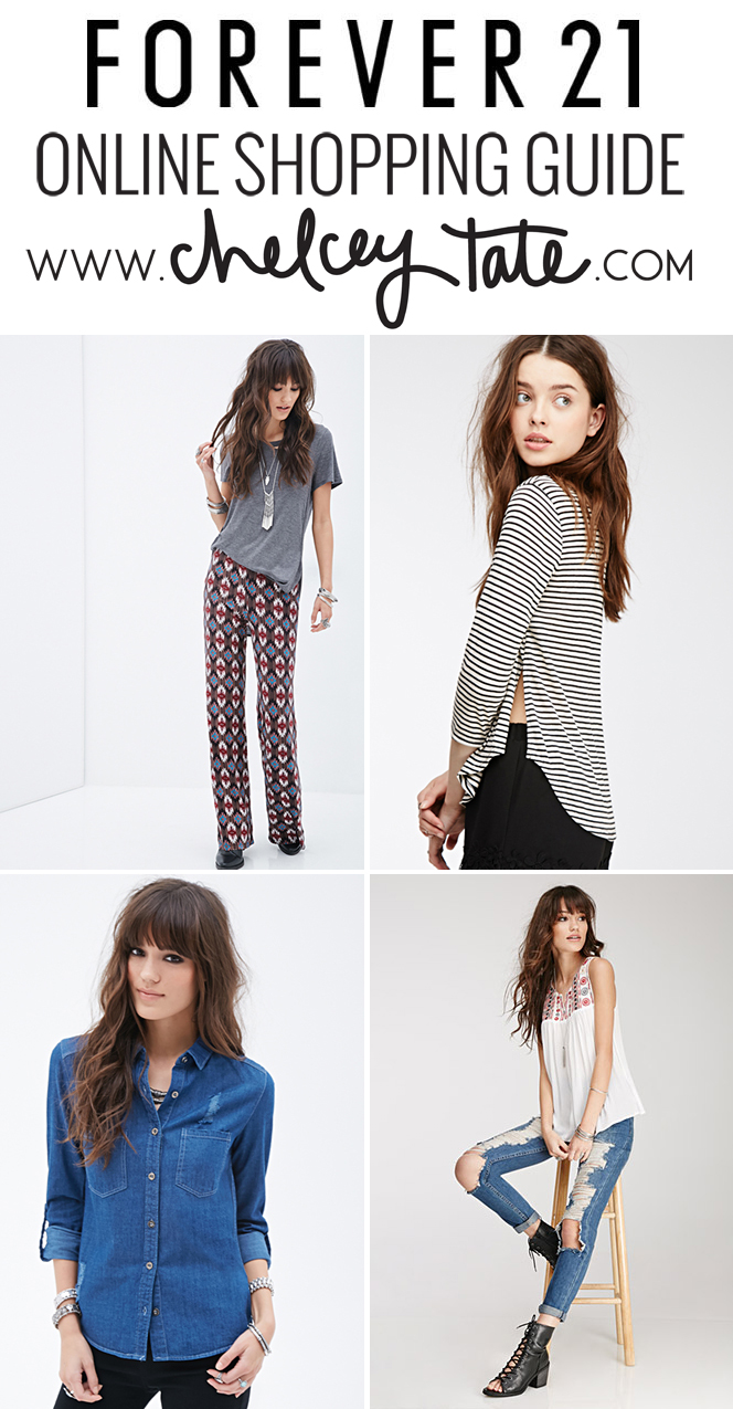 Forever 21 Online Shopping Guide chelceytate.com