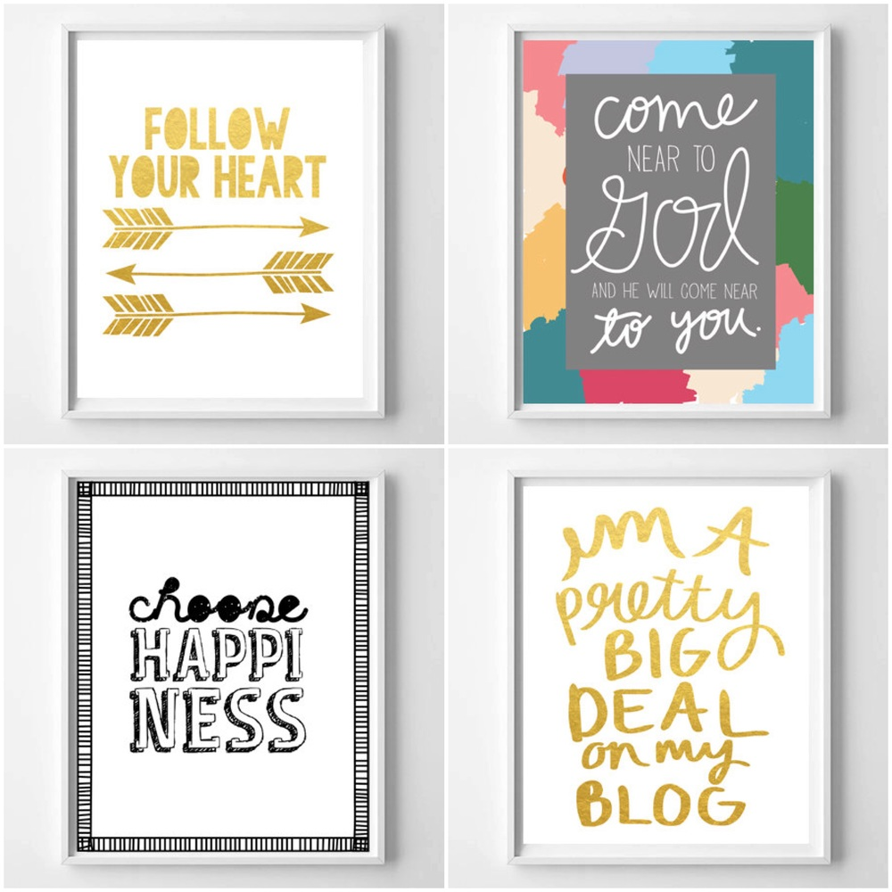 Fresh Off The Press!  New designs by Chelcey Tate for WhatThePrint on Etsy
