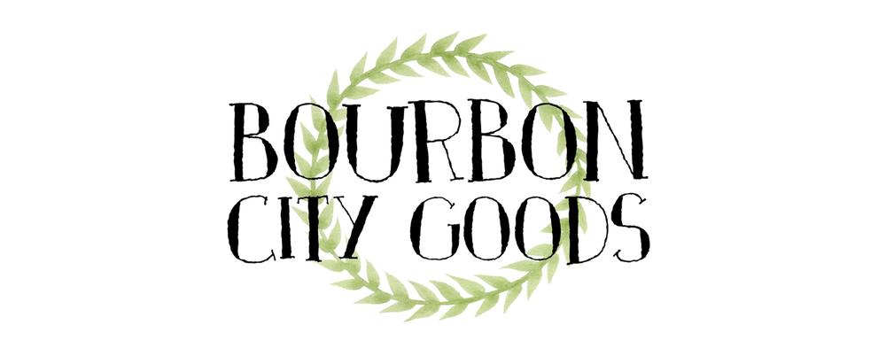 Bourbon City Goods Logo Design