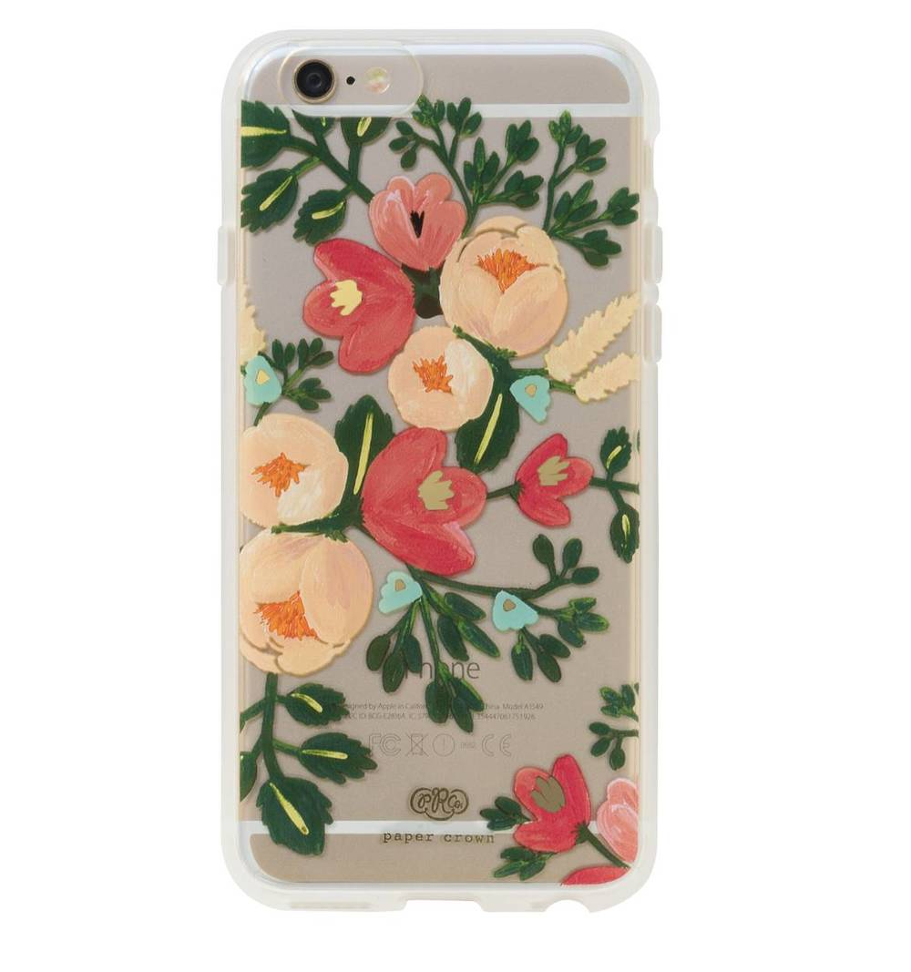 Clear Peach Blossom iPhone 6 Case - Rifle Paper Co.