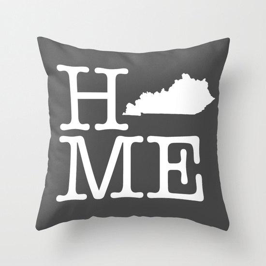 Kentucky Home Pillow Cover
