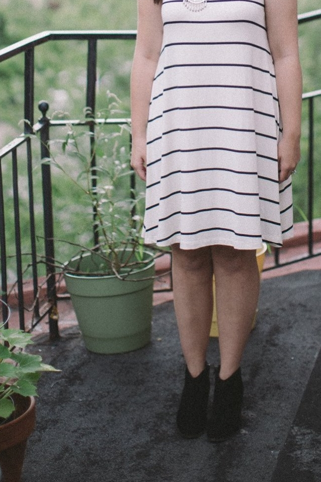 Black, White + Stripes | Chelcey Tate