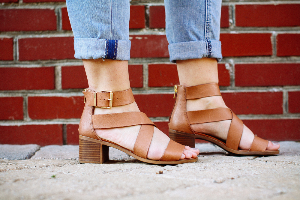 Steve Madden Sandals from DSW via www.chelceytate.com