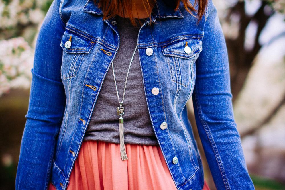 Spring Style - Denim Jacket www.chelceytate.com
