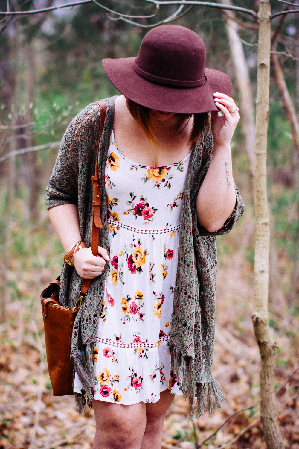 Spring Style Floral Dress www.chelceytate.com