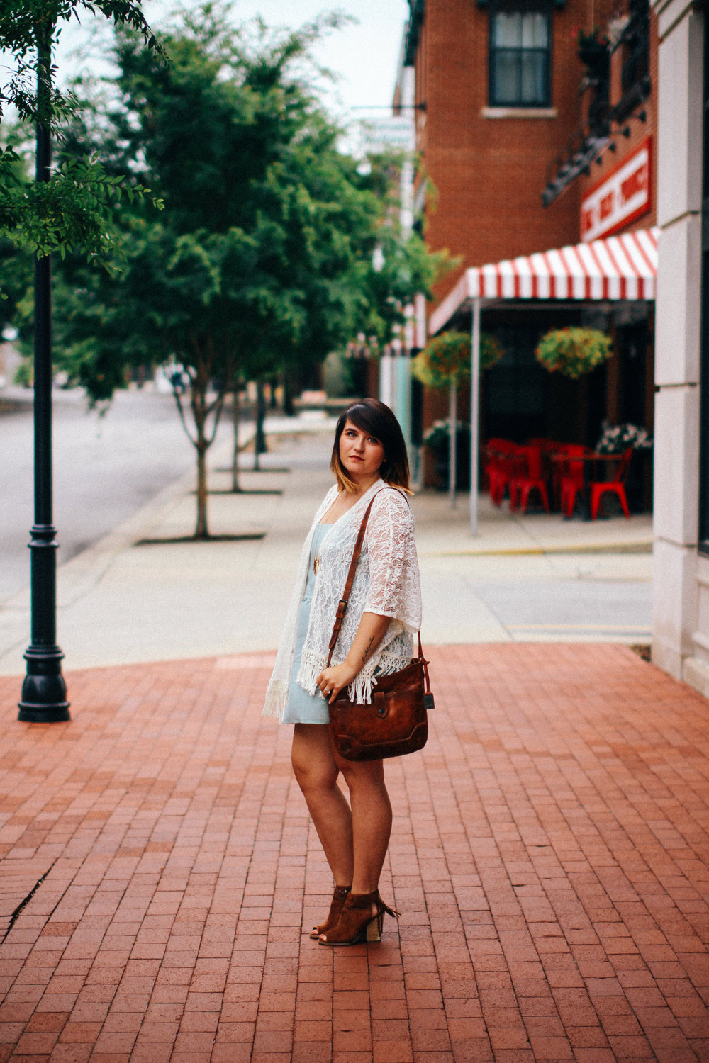 Leather + Lace Fall Style via chelceytate.com / @forever21 @thefryecompany @modcloth @americaneagle
