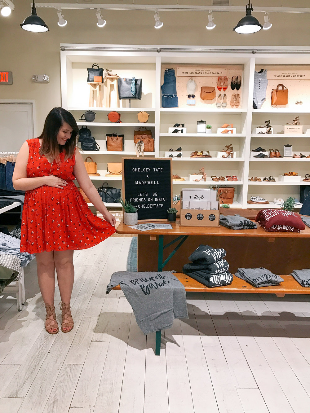 Chelcey Tate x Madewell Spring Pop-Up