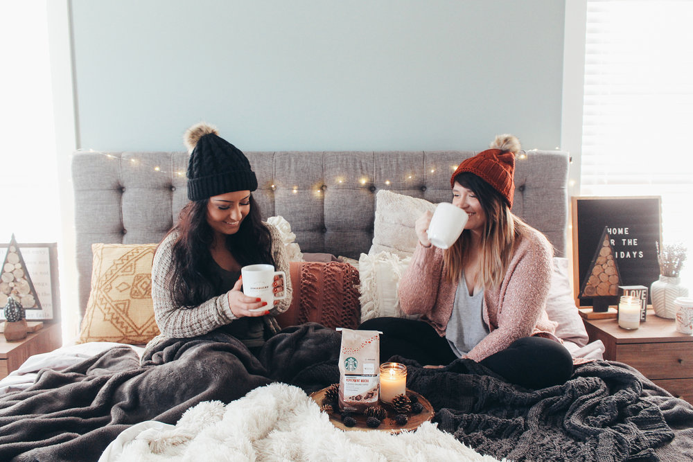 Home for the Holidays With Starbucks® via Chelcey Tate chelceytate.com