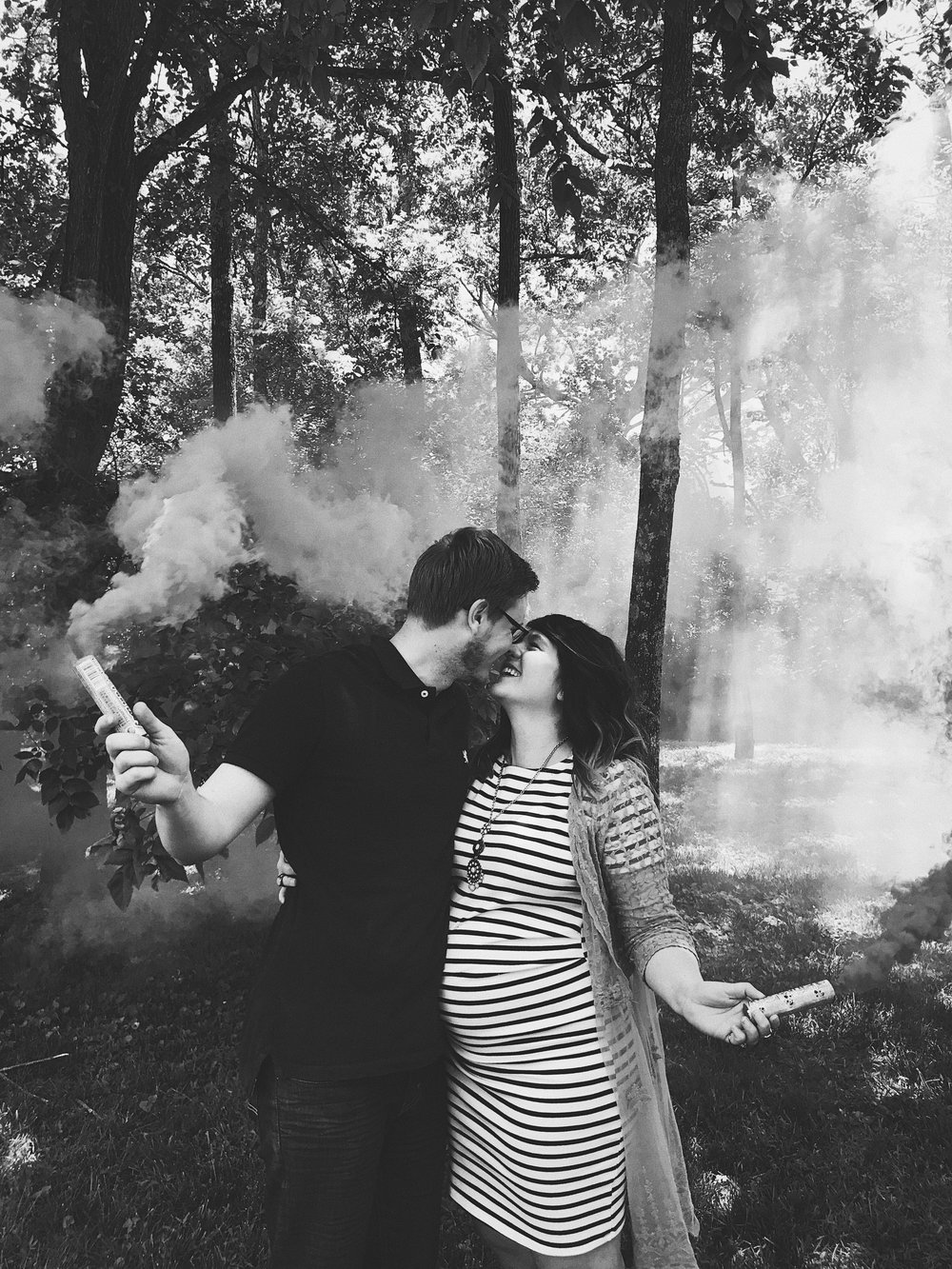 Reflecting on 2017 Baby Girl Gender Reveal Announcement via Chelcey Tate www.chelceytate.com
